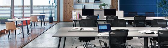 内田洋行が働き方変革トライアルオフィスのためのレンタルサービス「TrendRent(トレンドレント)」を拡充 新品家具を中心に約40,000点のバリエーションから試験導入可能